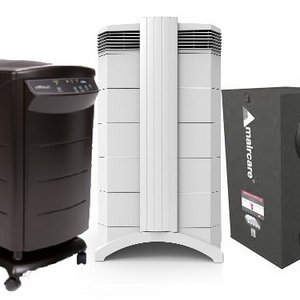 IQAir Air Purifier, HealthWay Deluxe, Amaircare Airwash Whisper 375