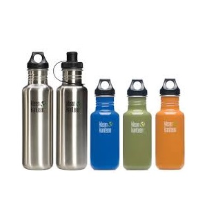 Klean Kanteen, the safe and reusable Stainless Steel Water Bottle