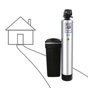 Whole-house Water Softener, Carbon Filter, Big Blue Water Filter