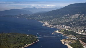 aerial-view-of-west-vancouver-beyond-lions-gate-bridge